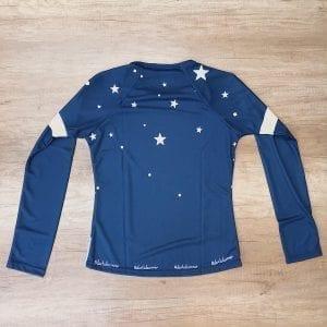 Camiseta técnica manga larga apunta a la luna, parte posterior