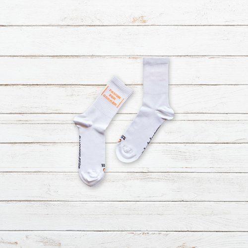 Calcetines Pasion por Correr Blanco Producto 002