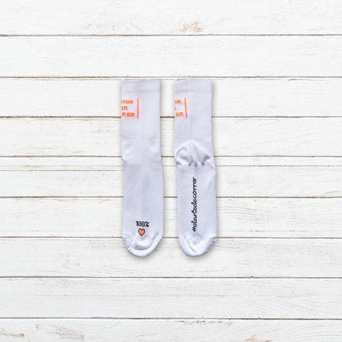Calcetines Pasion por Correr Blanco Producto 003