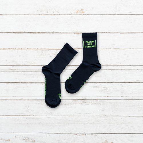 Calcetines Pasion por Correr Negro Producto 002