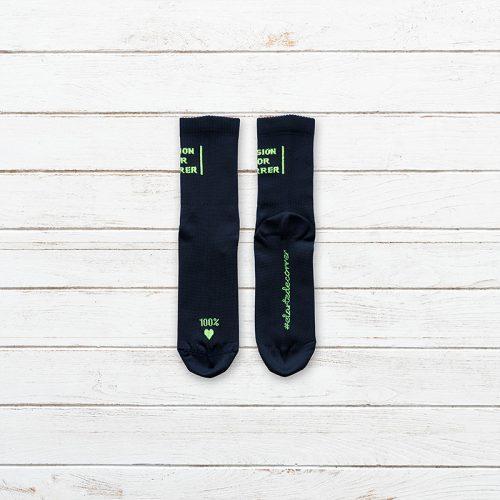 Calcetines Pasion por Correr Negro Producto 003