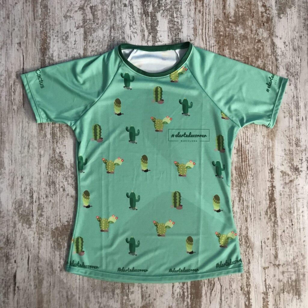Camiseta técnica Cactus elartedecorrer e1505127286234 3