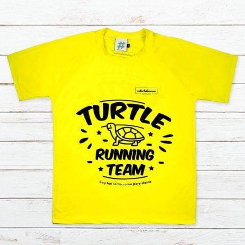 Camiseta tecnica tortuga team elartedecorrer 2