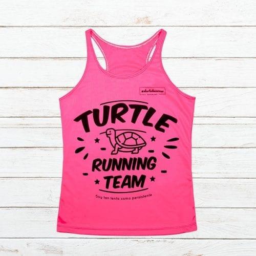 Camiseta tecnica tortuga team elartedecorrer 3