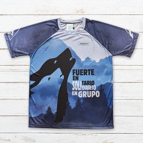 Camiseta Lobos 001