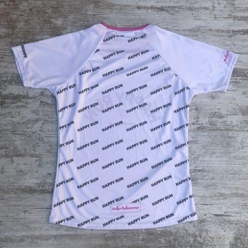 camiseta tecnica happy run esquena elartedecorrer
