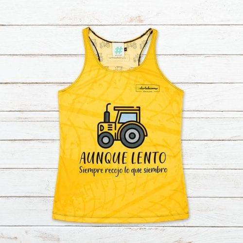 camiseta tecnica tractor elartedecorrer 2