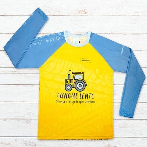 camiseta tecnica tractor elartedecorrer 4