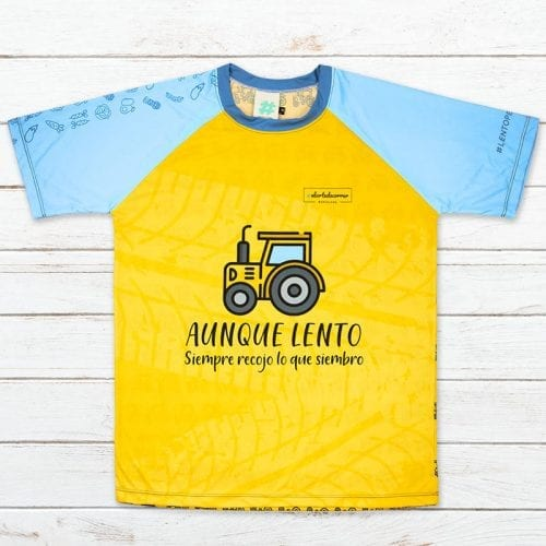 camiseta tecnica tractor elartedecorrer 5