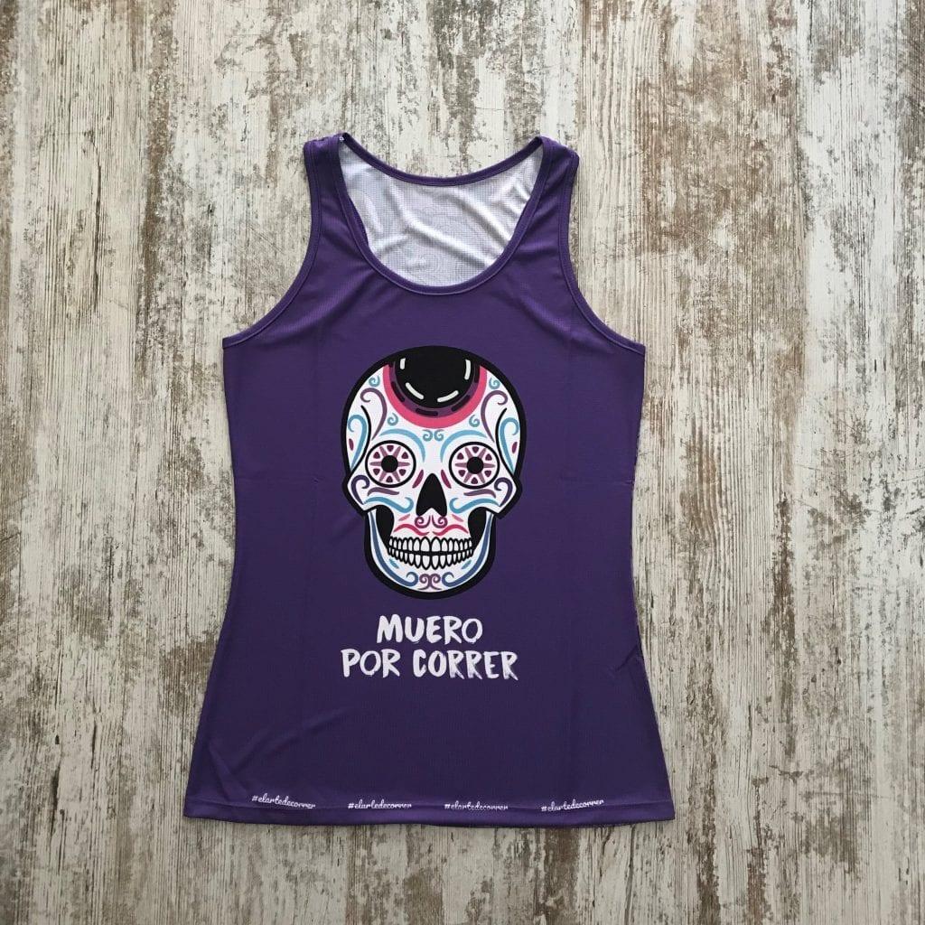 camiseta tirantes calaveras mexicanas elartedecorrer 1 1