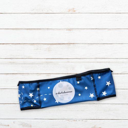 cinturon deportivo apuntaalaluna azul trasero elartedecorrer