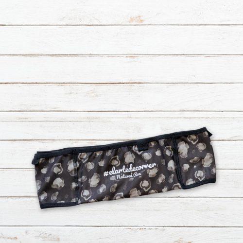 cinturon deportivo leopardo negro elartedecorrer 1