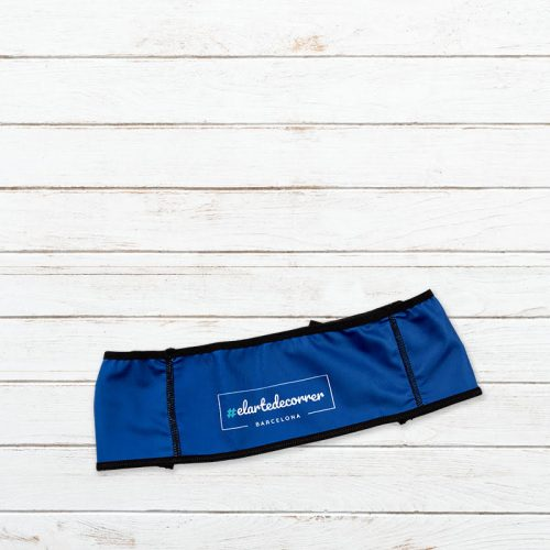 cinturon deportivo trail caracol azul elartedecorrer