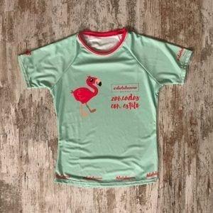colección flamenco #elartedecorrer – camiseta tecnica