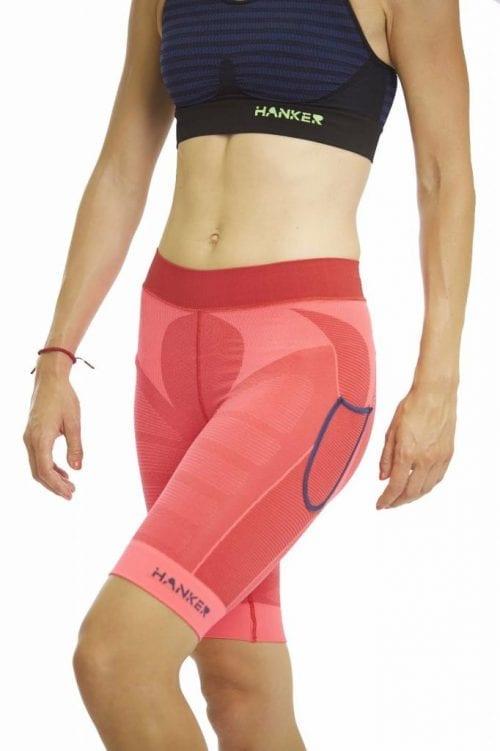 Malla corta Drag Hanker-Sports rosa imagen mujer - #elartedecorrer