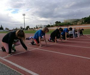 Escola atletisme Centre Atlètic Laietània