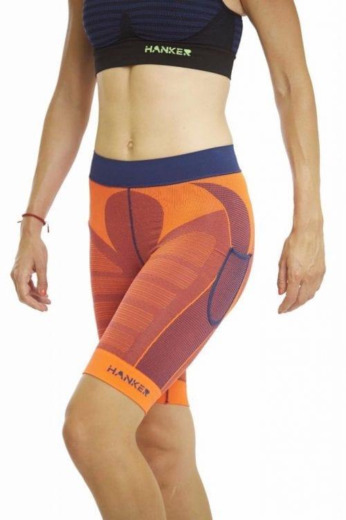 Malla corta Drag Hanker-Sports naranja imagen mujer - #elartedecorrer