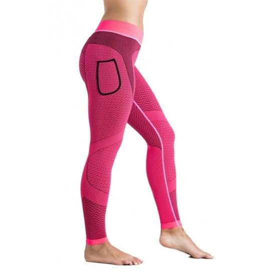 Malla larga mujer en color rosa, modelo Mantra.