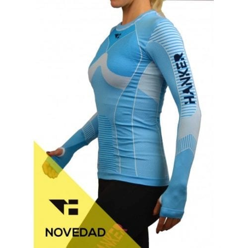 sayom camiseta manga larga mujer trail running 2 1