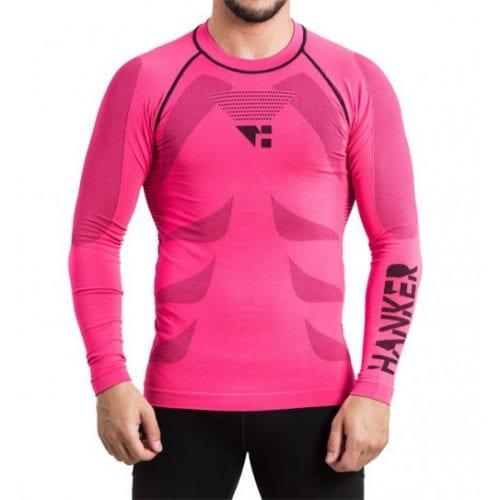 shin camiseta manga larga unisex trail running 1