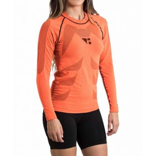 shin camiseta manga larga unisex trail running 2