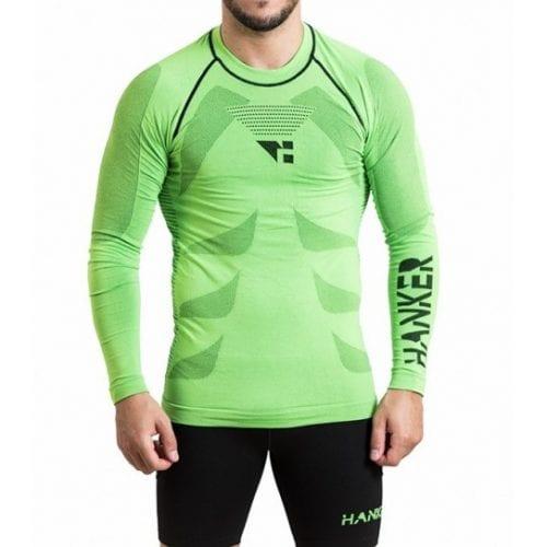 shin camiseta manga larga unisex trail running