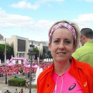 MªRosa González, corredora de Espacio De Corredoras y #elartedecorrer, feliz por conseguir sus retos personales.